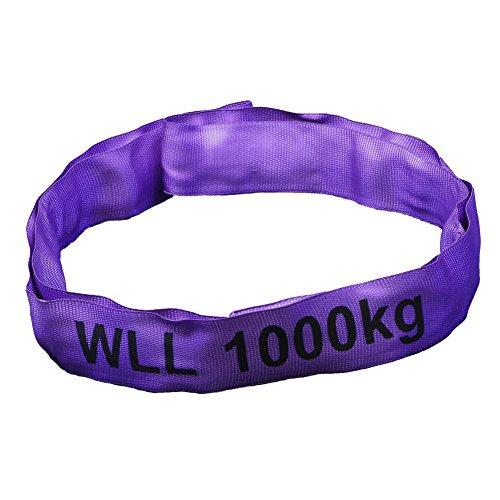 Rundschlinge violett, Tragkraft 1000 kg, 6,0 m