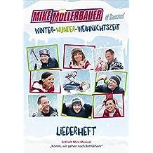 """Winter-Wunder-Weihnachtszeit (Liederheft): incl. Mini-Musical """"Komm, wir gehen nach Bethlehem"""""""