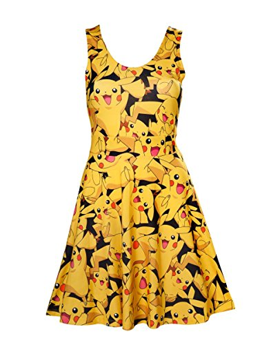 Bioworld Pokémon - All Over Pikachu Dress M