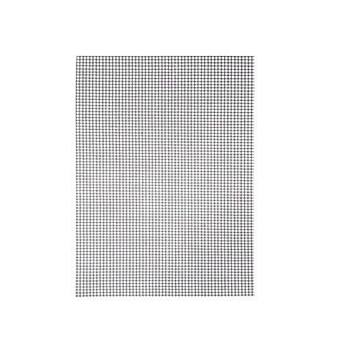 deepchina 1 stück Non Stick Grill Matten Hohe Sicherheit Grid Form BBQ Matte Mit Hitzebeständigkeit 30x40x0,2 cm Für Outdoor 1