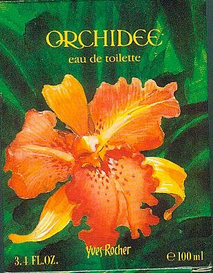 Yves Rocher - Orchidee - Eau de toilette - e 100 ml. - 3.4 FL.OZ. 100ml/80 % vol. [Yves Rocher] (Orchidee Indische)