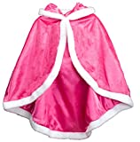 Best Pink Queen Capes - About Time Co Girl's Snow Princess Hooded Cape Review