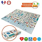 Babify Alfombra de Juegos Reversible XL/Colchoneta Infantil