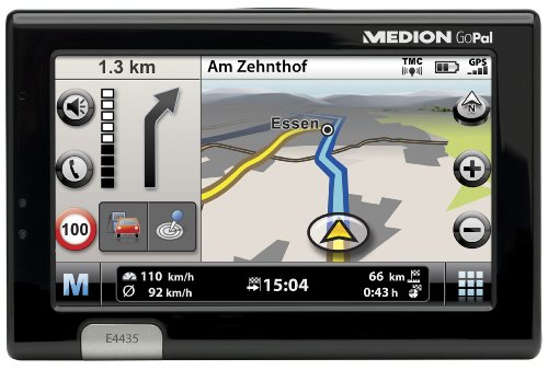 Medion Gopal Navi E4435 Navigationssystem Europa inklusive TMC