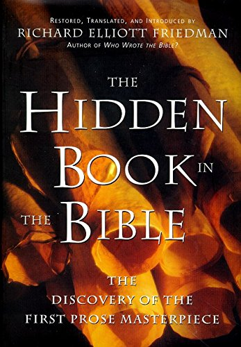 The Hidden Book in the Bible por Richard Elliott Friedman