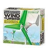 4M - 68563 - Jeu De Construction - Eco-Engineering - Construisez Votre Propre Éolienne