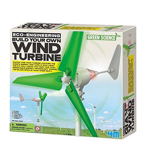 4m 174.150cm Eco-Engineering-Costruire Il Proprio turbina eolica Kit di Costruzione