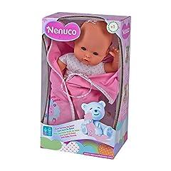Idea Regalo - Famosa 700012123 - Nenuco, Bambola con effetti sonori, 35 cm