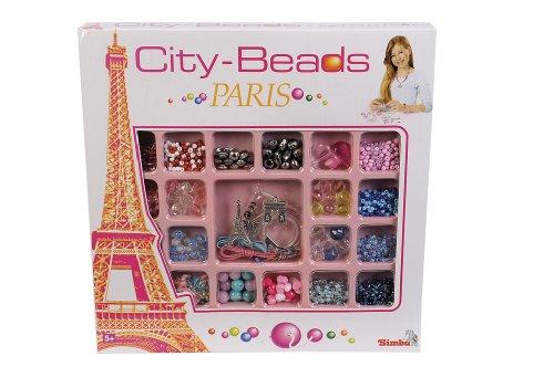 Simba 106379904-Perlas Set City Beads Paris