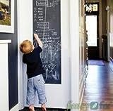 Moderne Büroartikel DIY Vinyl Tafel Abnehmbare Tafel Kreide Bord Wandaufkleber Aufkleber mit 5 Kostenlose Kreide-200 * 45 cm Ideal für den Einsatz im Büro