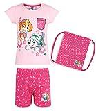 Paw Patrol Chicas Pijama mangas cortas con bolso - Rosa - 92