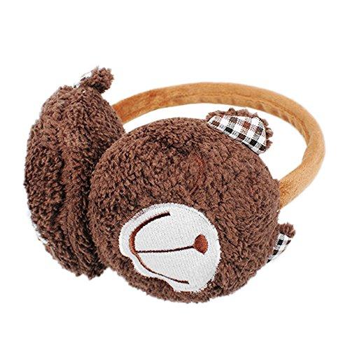 Enfants Animal Design Du Casque / Cute Bear Earmuff / Doux Et Chaud B