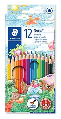 Staedtler 144 NC12 Farbstift Noris Club sortiert, 12 ST im Kartonetui