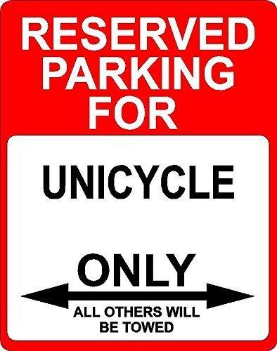 Teisyouhu Schlafzimmer Türschild Einrad Transport vorbehalten Parking Only Metall Tür Deko UV-geschützt & Wasserdicht Plaque