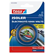 Tesa 56163-00002-00 isolieren Strom/6.000 V, PVC, isoliert, 10 m x 15 mm