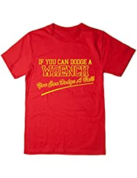 Balcony Shirts 'If You Can Dodge a Wrench You Can Dodge A Ball' Mens T Shirt