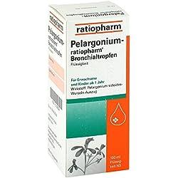 Pelargonium ratiopharm Bronchialtropfen 100 ml