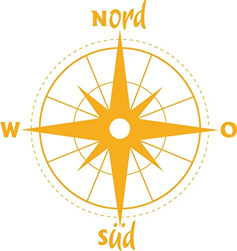wall-tattoo-wall-sticker-for-living-room-ddeko-compass-north-south-directional-golden-yellow-53-x-50