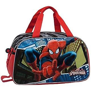 Marvel Spiderman Bolsa de Viaje, 27.72 Litros, Color Azul