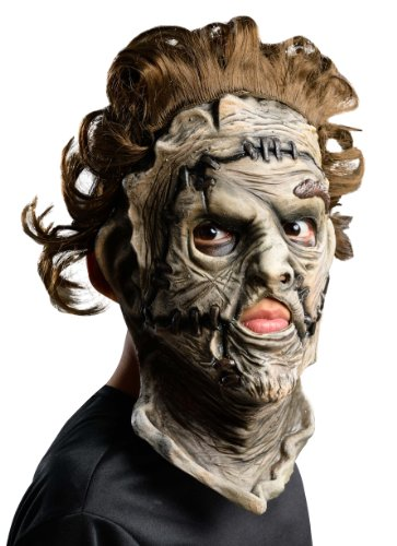 cre III Leatherface 3/4 Mask by Rubie's (Texas Chainsaw Massacre Leatherface Maske)