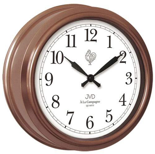 Dekoration Tischuhr elektrisch Batterie  nostalgisches Telefon als Uhr ca 25cm