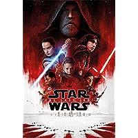 Star Wars The Last Jedi Póster, Hoja, Papel, Multicolor, 91,5 x 61 x 0,03 cm