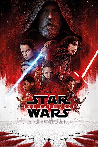 Preisvergleich Produktbild Star Wars Die Letzten Jedi One Sheet Maxi Poster,  Papier,  Mehrfarbig,  91, 5 x 61 x 0, 03 cm