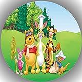 Premium Esspapier Tortenaufleger Tortenbild Geburtstag Winnie Pooh N16