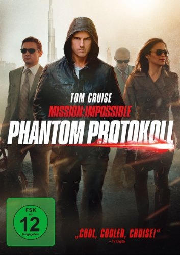 Paramount Home Entertainment Mission: Impossible - Phantom Protokoll