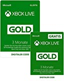 Image of 3 Monate Xbox Live Gold + 3 Monate GRATIS | Xbox Live Download Code