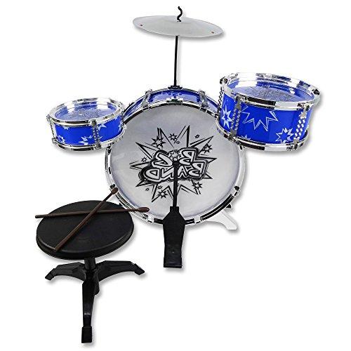Kinder-Schlagzeug »Big Band« 6-tlg. Kinderschlagzeug Trommelset