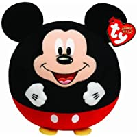 Ty - Disney - Peluche Ty Ball Mickey Mouse 33 cm - Calidad super soft