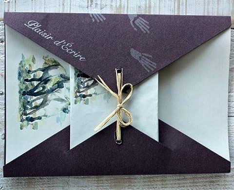 Papier A Lettre Correspondance - Papier à lettres Chevaux avec enveloppes en