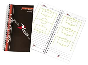 Precision Training Slimline Scouts Notepad - Football by Precision Training