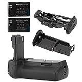 Neewer Professional Batteriegriff Akkugriff Battery Grip für Canon EOS 60D digitale SLR-Kamera wie der Canon BG-E9, kompatibel mit 2 LP-E6 Li-Ionen-Akkus oder 6 AA Batterien