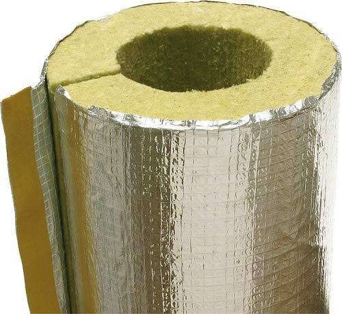 Isolierung für Rauchrohr Abgasrohr Kamin 110-180 mm Alu Rauchrohrisolierung Heizung Rauchrohrisolierung-Größe 150mm