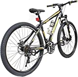 Cosmic Trium 27.5 Inch Mtb Bicycle 21 Speed(Black:Gold)