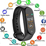Mi Compatible Fitness Band 3 Activity Tracker | OLED Heart Rate Monitor, Health