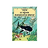 Poster Moulinsart Album de Tintin: Le trésor de Rackham le Rouge 22110 (70x50cm)...