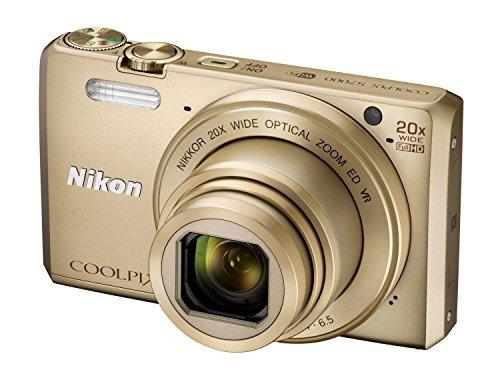 Nikon Coolpix S7000 Digitalkamera (16 Megapixel, 20-fach opt. Zoom, 7,6 cm (3 Zoll) LCD-Display, USB 2.0, bildstabilisiert) gold - 3