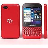 "BlackBerry Q5 Smartphone-SQR100-2-QWERTY- Móvil libre (pantalla de 3,1"" 720 x 720, cámara 5 Mp, 8 GB, 2 procesadores de 1.2 GHz, 2 GB de RAM, S.O. BlackBerry OS 10), Rojo"