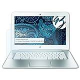 Bruni Película Protectora para Google Chromebook (14-c010, 14 Inch) HP Pavilion Protector Película, Claro Lámina Protectora (2X)