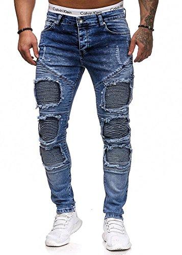 NOOR Herren Jeans elegante zerrissene pants Original usa Designer Jean Hose Basic Stretch Jeanshose Männer Junge Bekleidung Regular Slim Fit Schwarze grau Blau Farbe alle größen 898 31