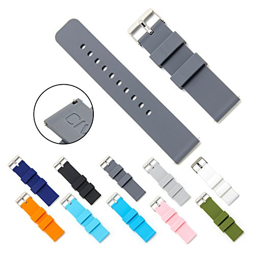 civo-quick-release-silicon-watch-bands-soft-rubber-watch-strap-smart-watch-band-stainless-steel-buck