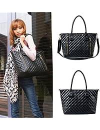 Mothers Day Gift Hot Fashion Women Lady Lingge Pattern PU Leather Handbag Shoulder Bag Handbags Cross Body Bags...
