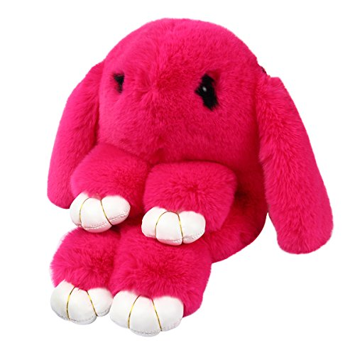 Yodensity Süße Kaninchen Hase Damen mini Rucksack Daypack Schultasche Handtasche Rosa