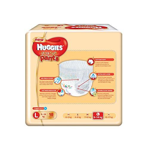 Huggies Ultra Soft Pants Diapers (18 PCS, L)
