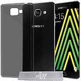 Coque Gel transparent Noir Samsung Galaxy A5 (2016) SM-A510F + Stylet + 3 Films OFFERTS