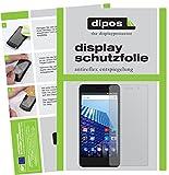 dipos I 2X Schutzfolie matt passend für Archos Access 50 Color Folie Bildschirmschutzfolie