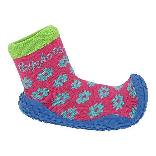 GALLUX - Kinder Aqua-Socken Badesocken Anti Rutsch Hausschuhe Rosa/Hellblau